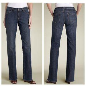 """Elie Tahari """"Nicola"""" straight leg high waist jeans"""